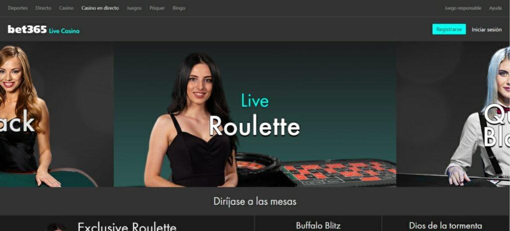 Bet365 Live Casino online