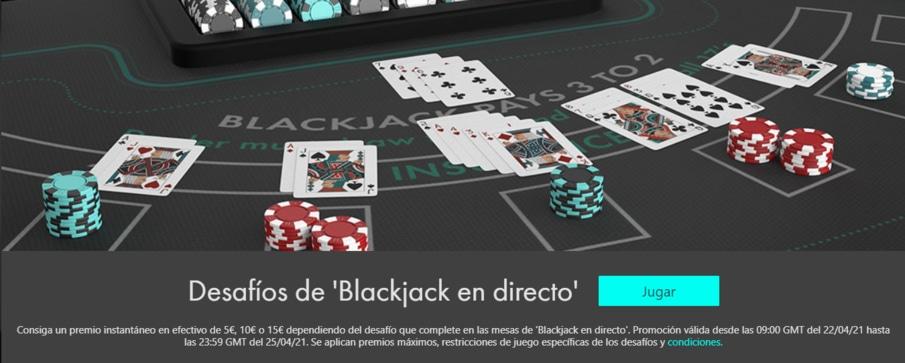 Bet365 Bono de Casino en Vivo